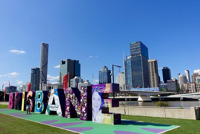 Panoramica di Brisbane