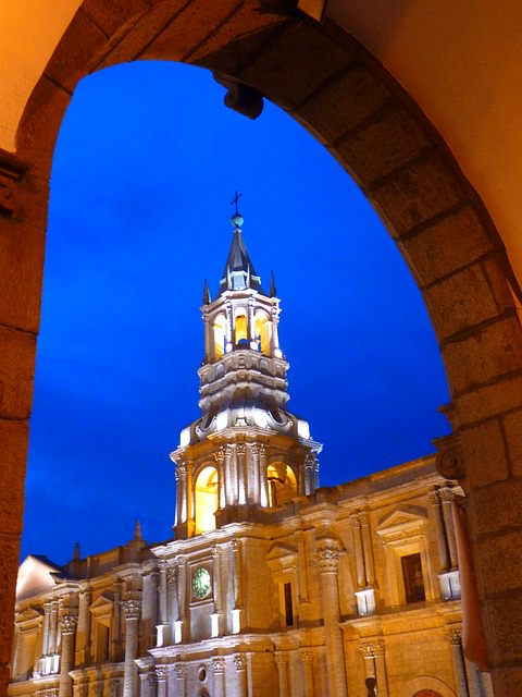 Arequipa cattedrale