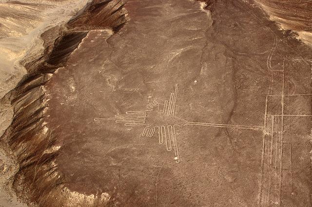 Linee Nazca - colibrì