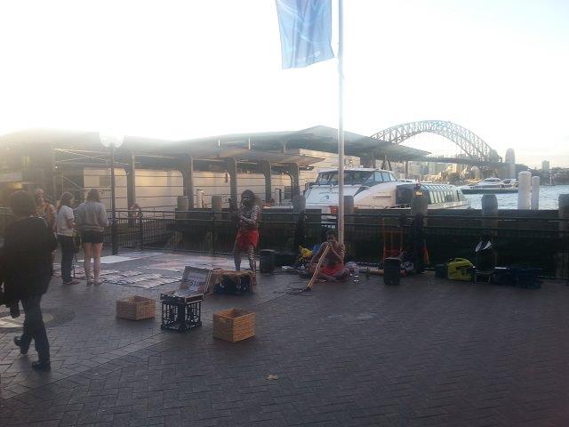 Sydney the rocks aborigeni
