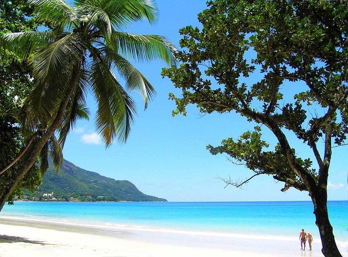 Beau Vallon Seychelles spiagge