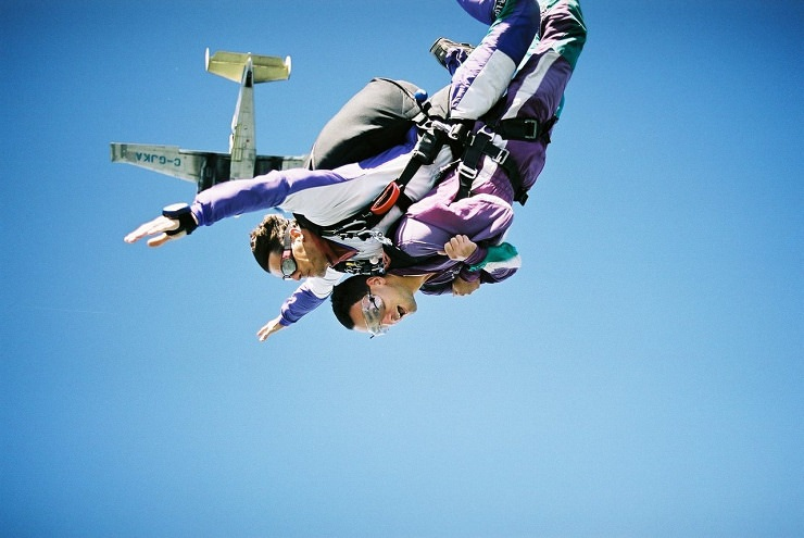 salto paracadute Fiji