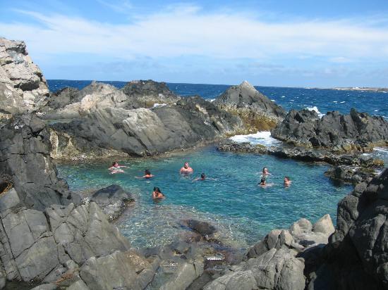 Cochi natural pool Aruba