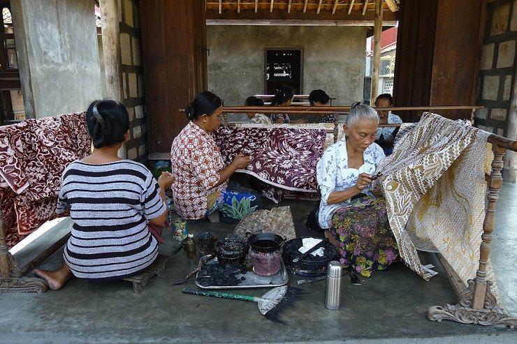 cosa comprare Bali Artigiananto stoffe batik