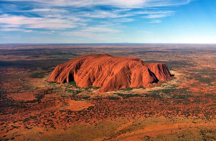 Uluru escursione elicottero