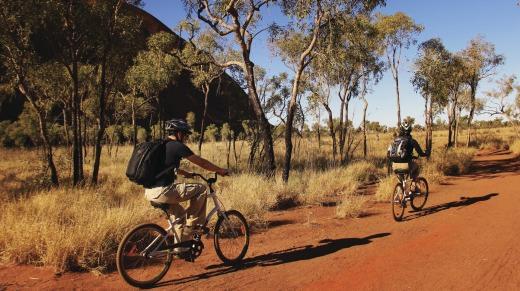 Uluru escursione bicicletta