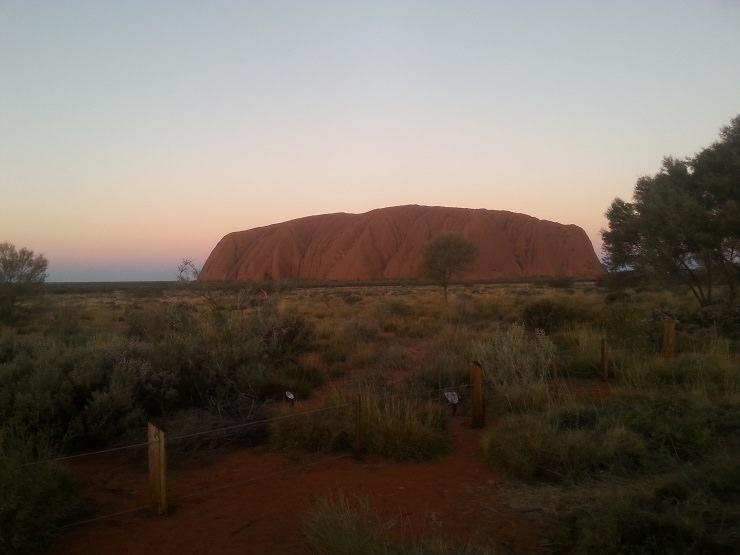 Uluru cosa vedere