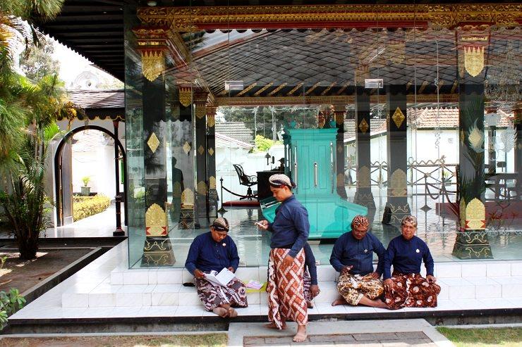 Yojakarta Kraton palazzo