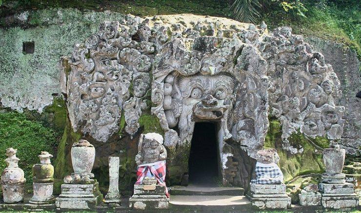 Ubud grotta elefante