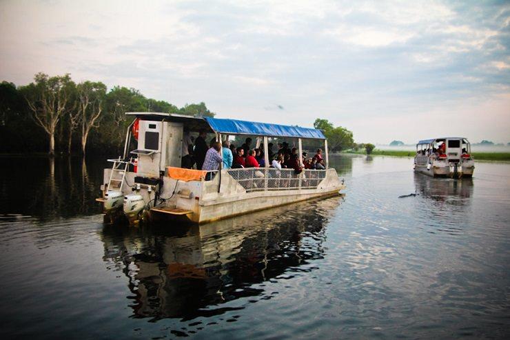 Kakadu crociera Yellow river cruise billabong